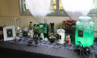 Horror sweet table